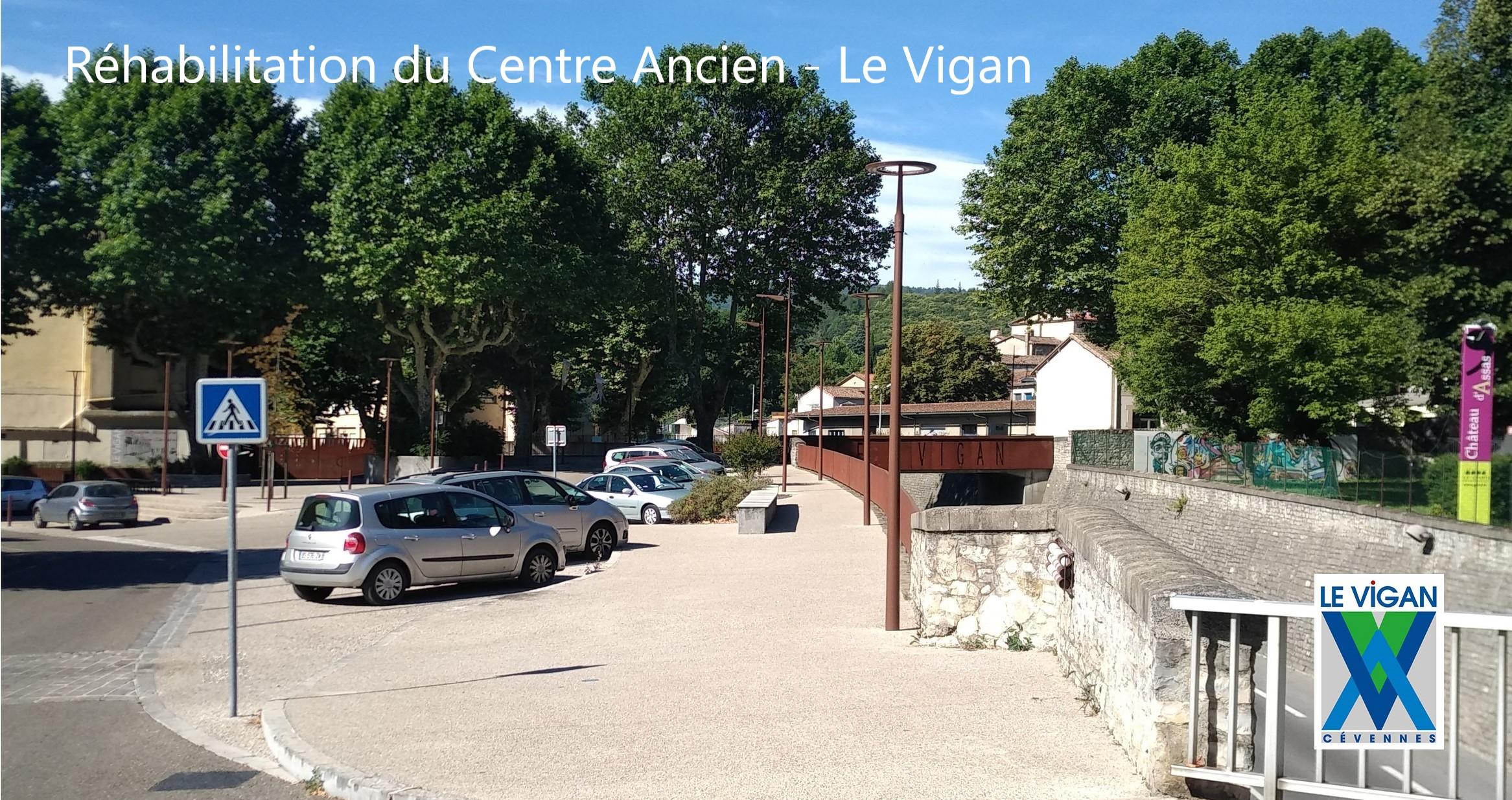 realisation centre ancien le vigan